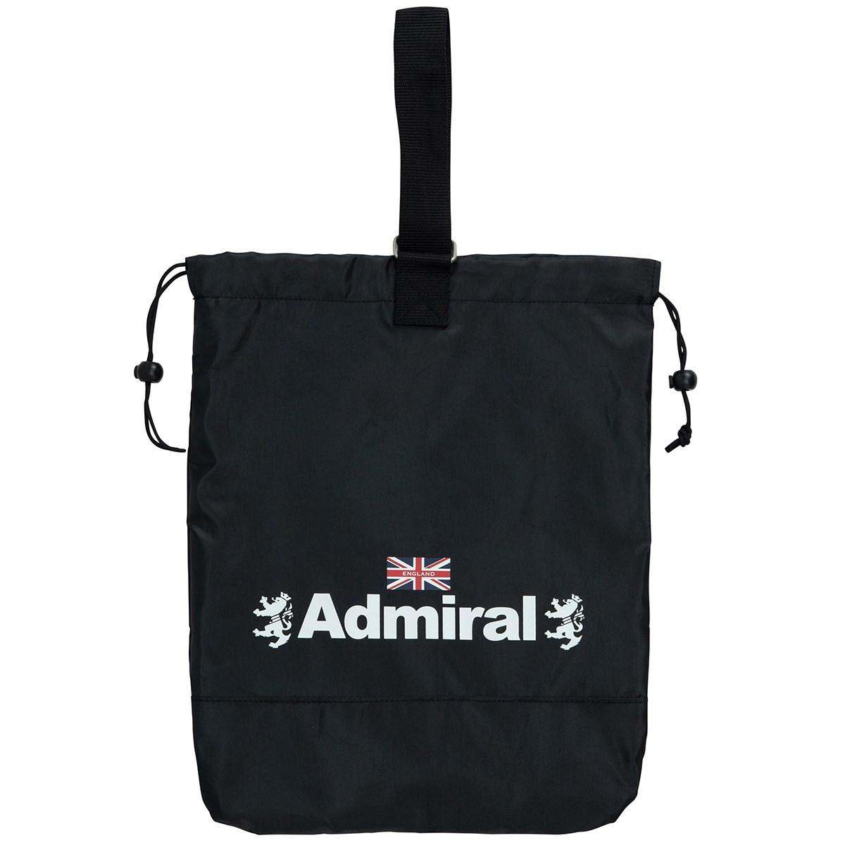アドミラル Admiral 巾着シューズケース ブラック 10