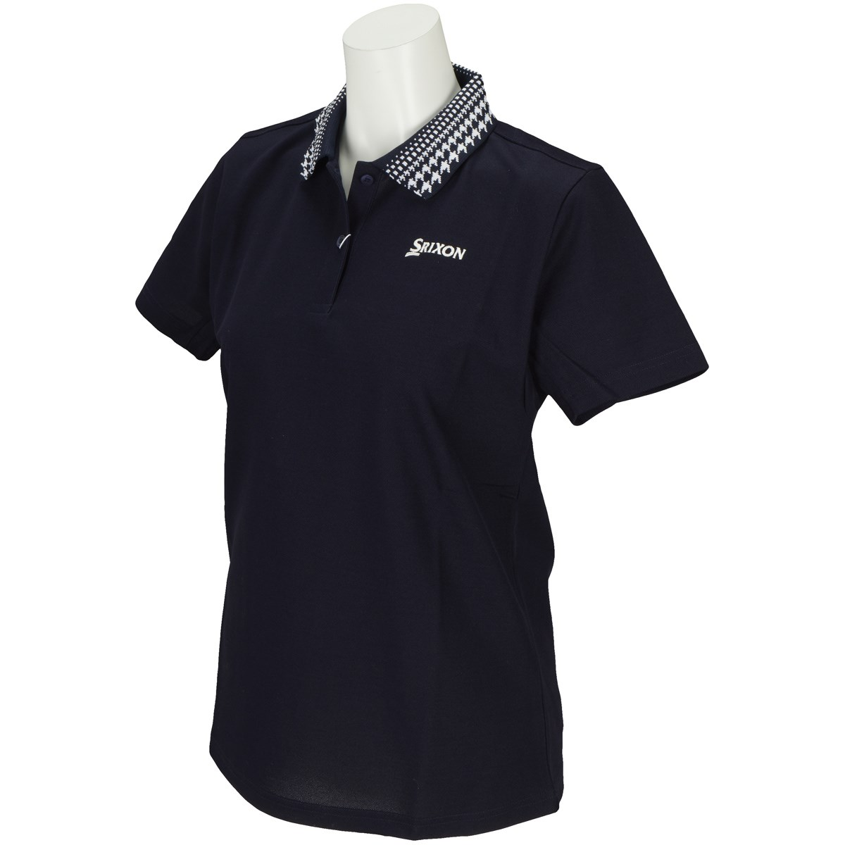 スリクソンゴルフ SRIXON 半袖ポロシャツ S ネイビー NV00 レディス