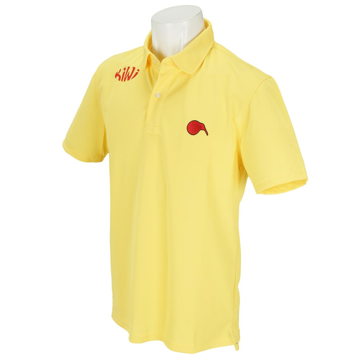 ラウンドカラー半袖ポロシャツ4