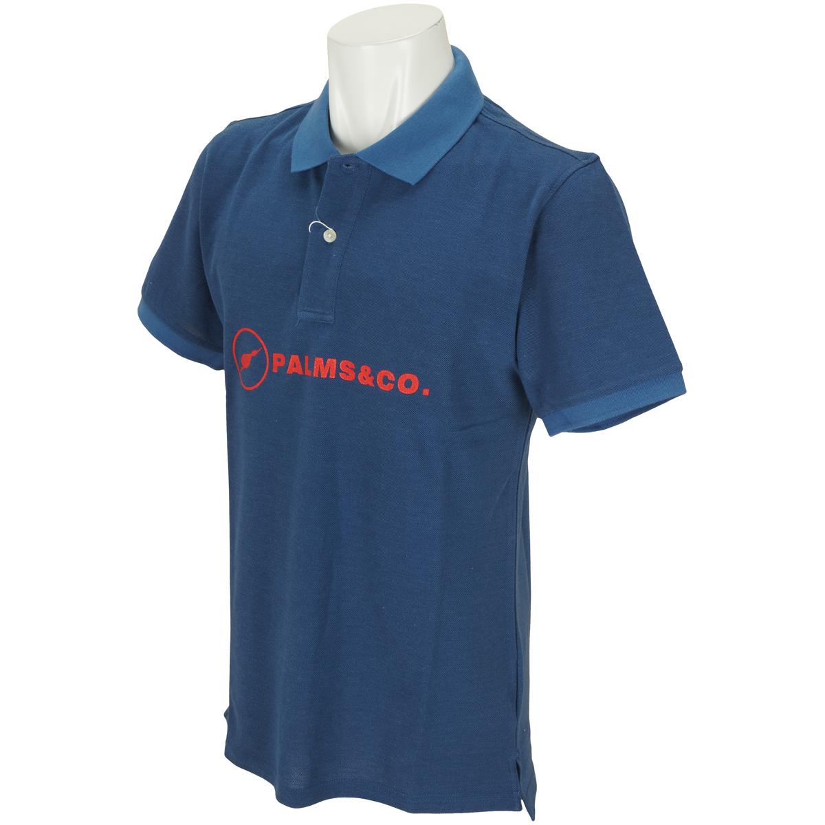ブレストロゴピケ半袖ポロシャツ
