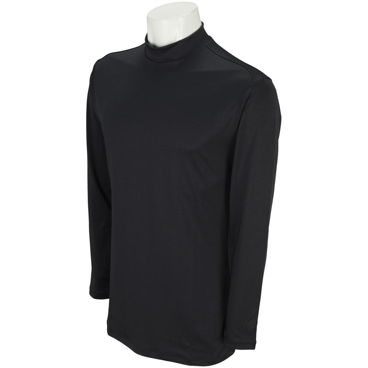 デサントゴルフ DESCENTE GOLF ストレッチ 長袖インナーシャツ M ブラック 00