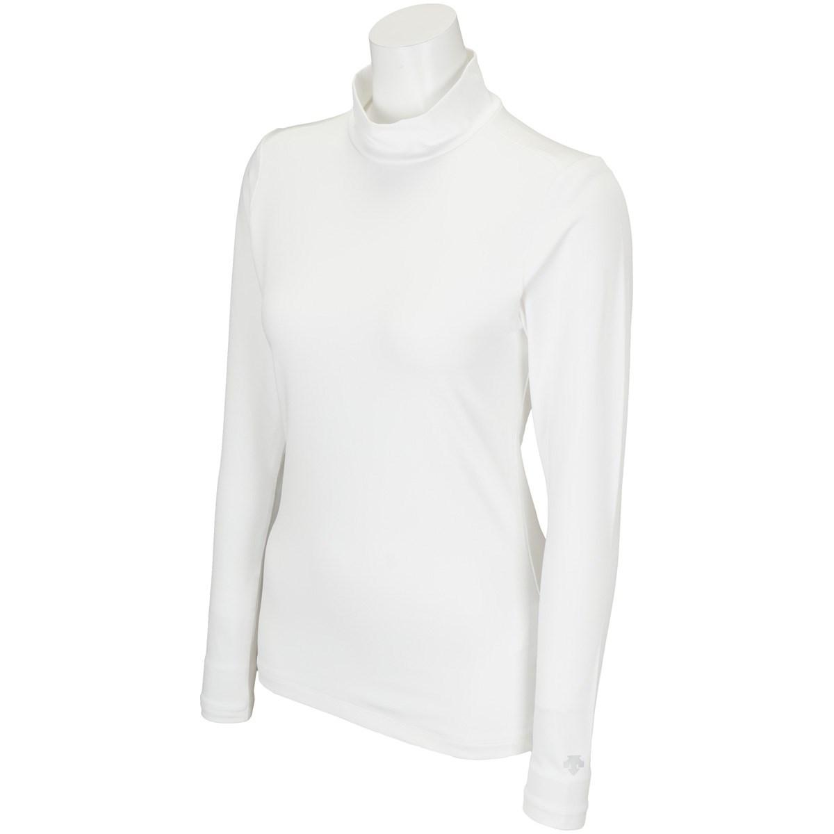 デサントゴルフ DESCENTE GOLF ストレッチ 長袖インナーシャツ S ホワイト 00 レディス