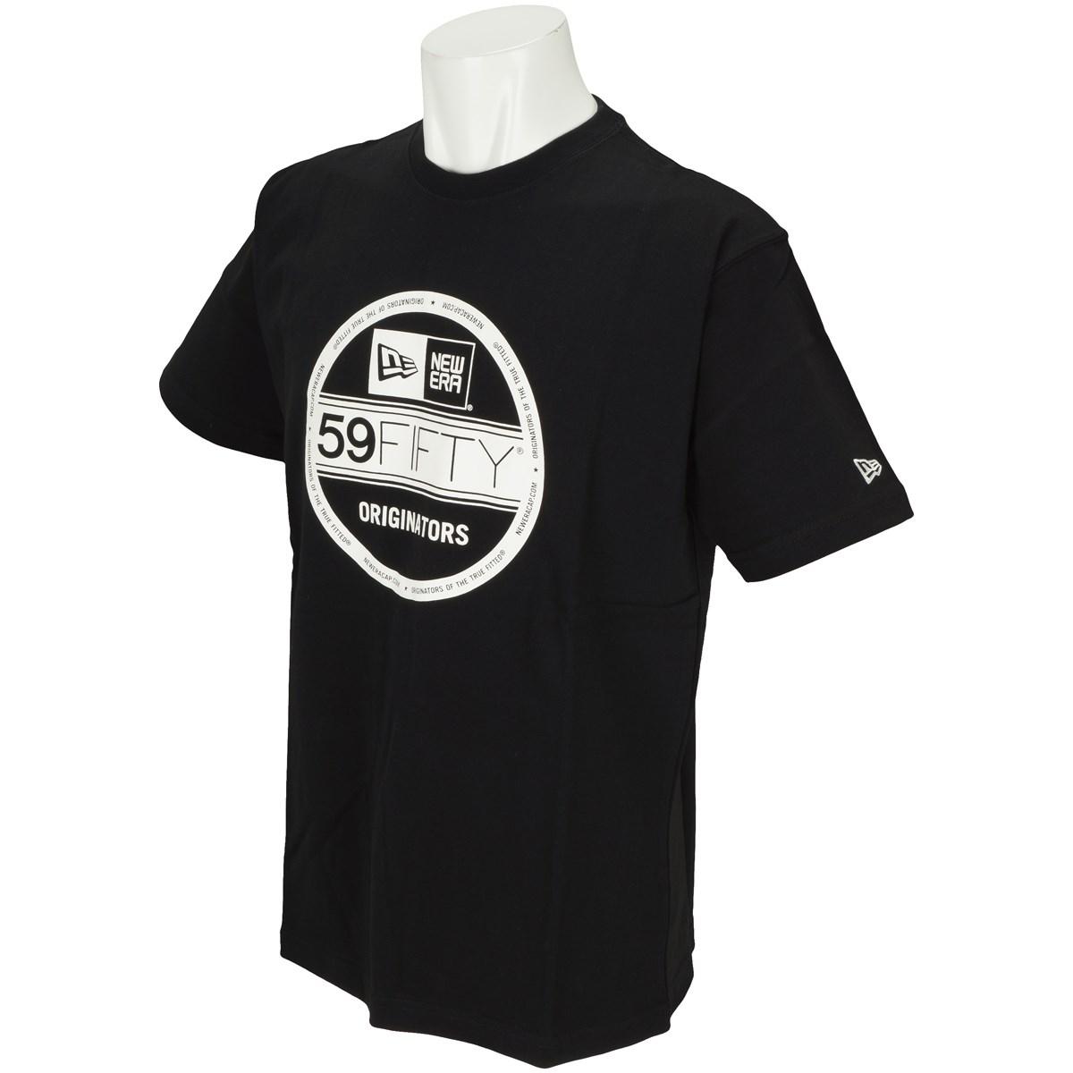 ニューエラ NEW ERA VS BASIC 半袖Tシャツ M ブラック/ホワイト