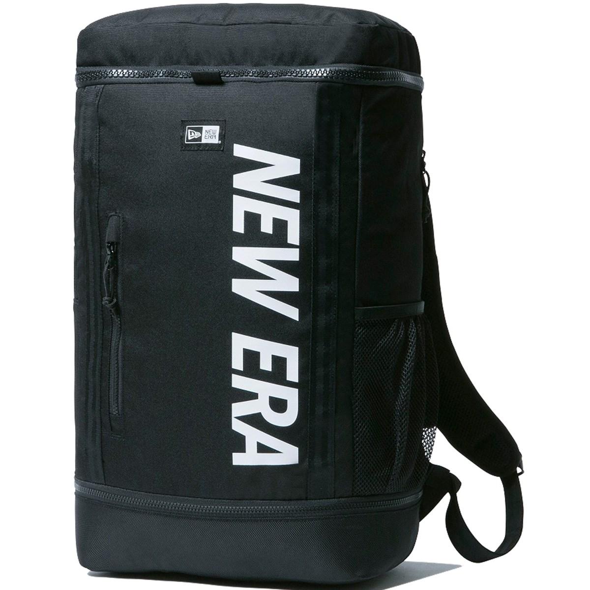ニューエラ NEW ERA ボックスバッグ ブラック(ロゴ:ホワイト)