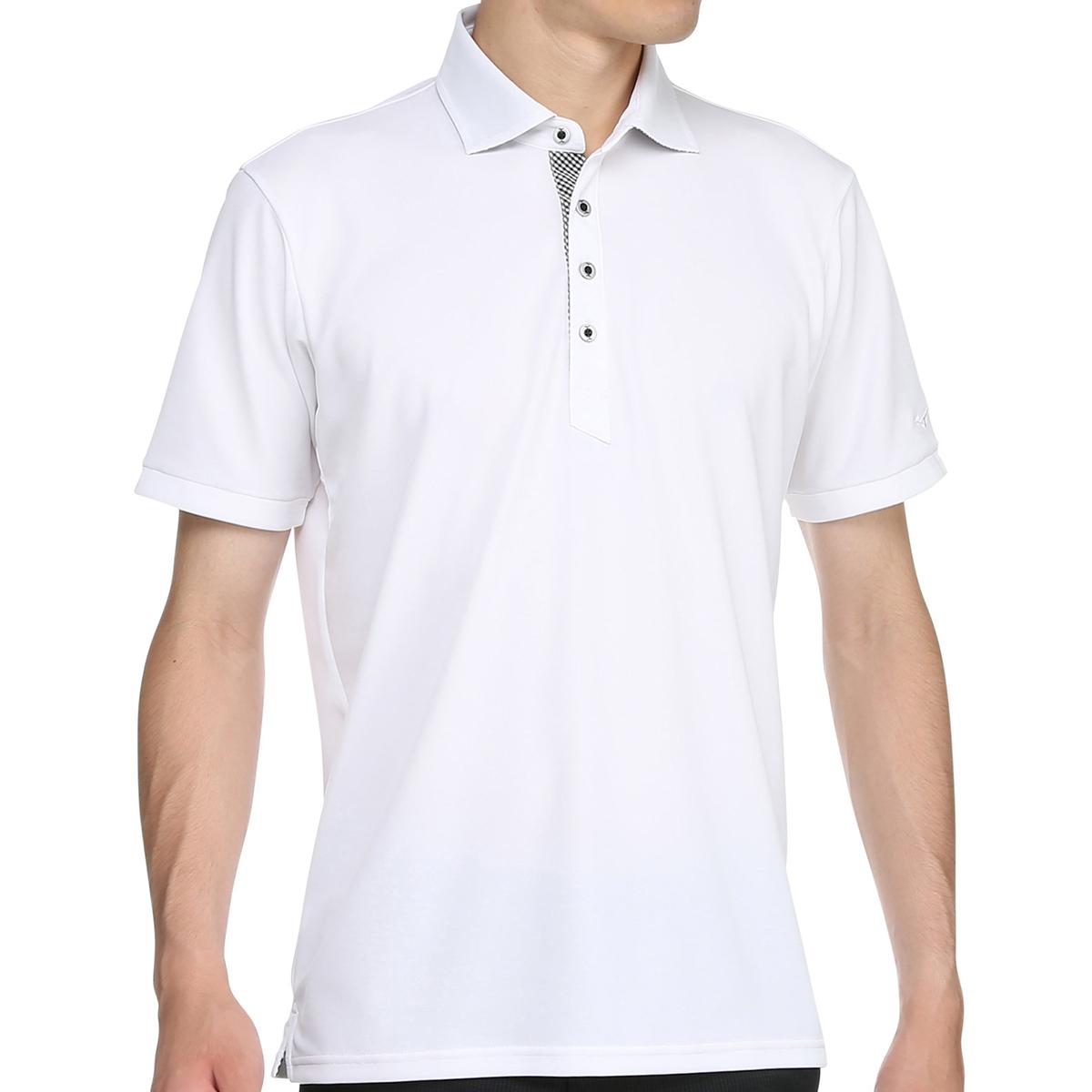 ハイドロ銀チタン半袖ポロシャツ