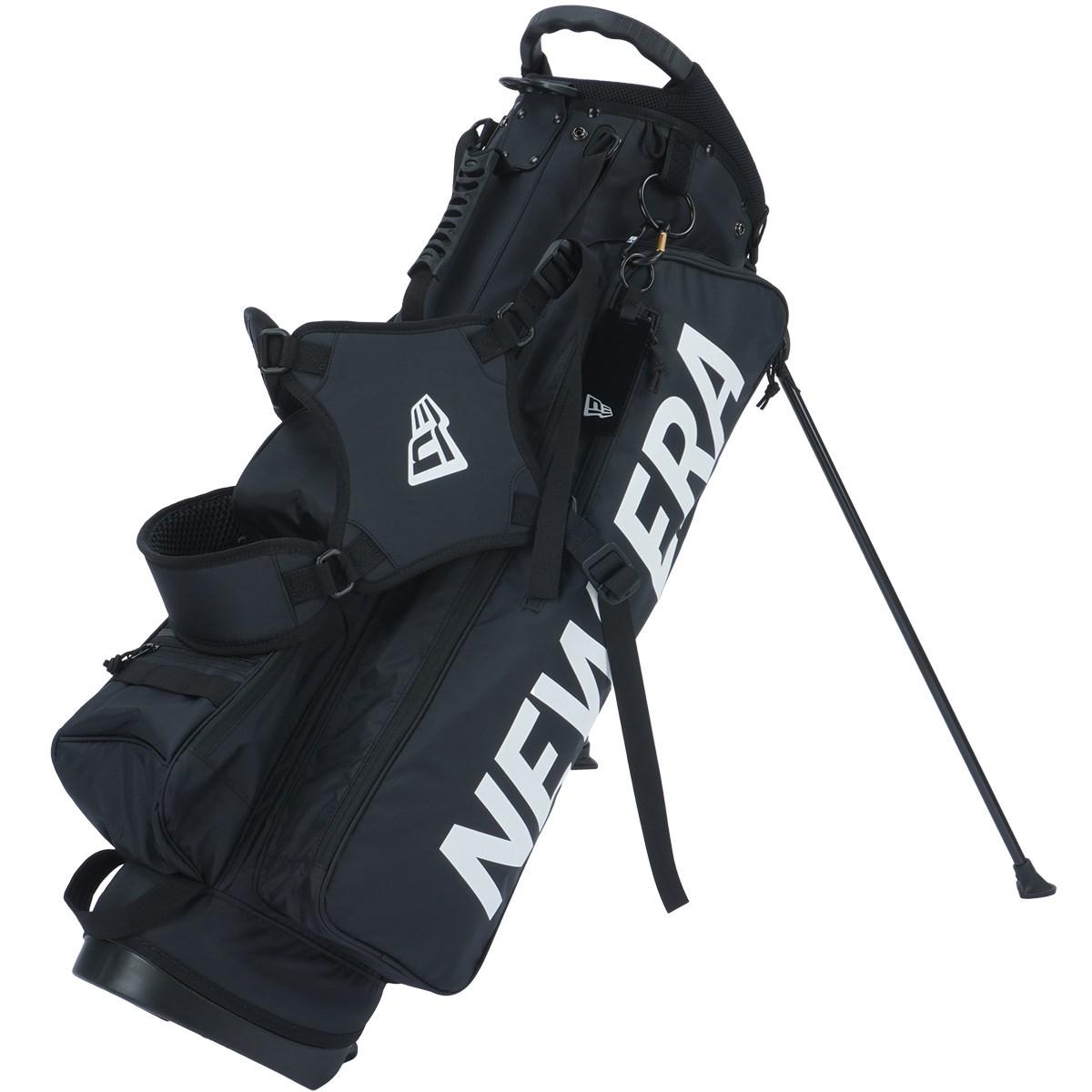 ニューエラ ゴルフライン GOLF スタンドキャディバッグ ブラック