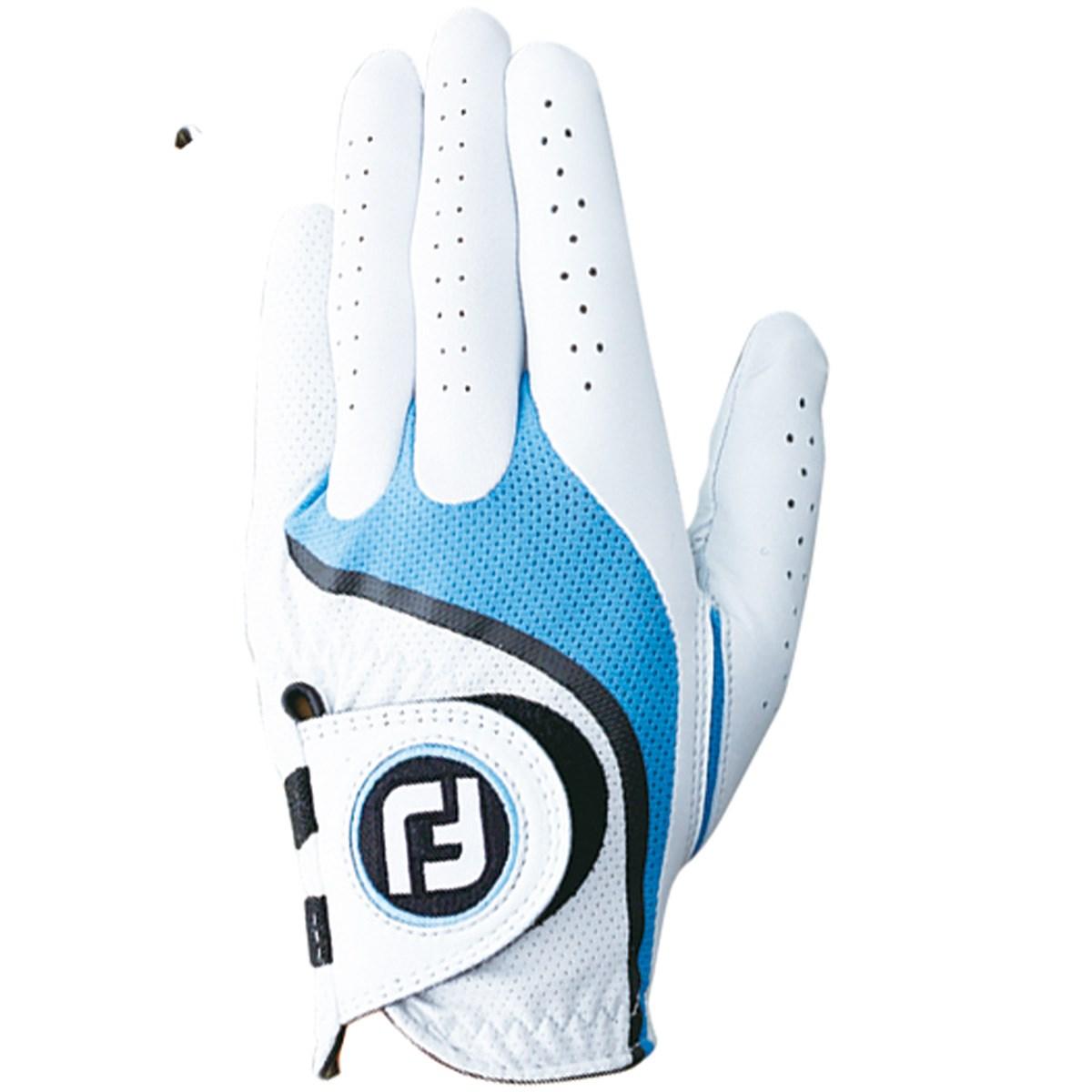フットジョイ Foot Joy プロフレックス グローブ 21cm 左手着用(右利き用) ホワイト/ブルー