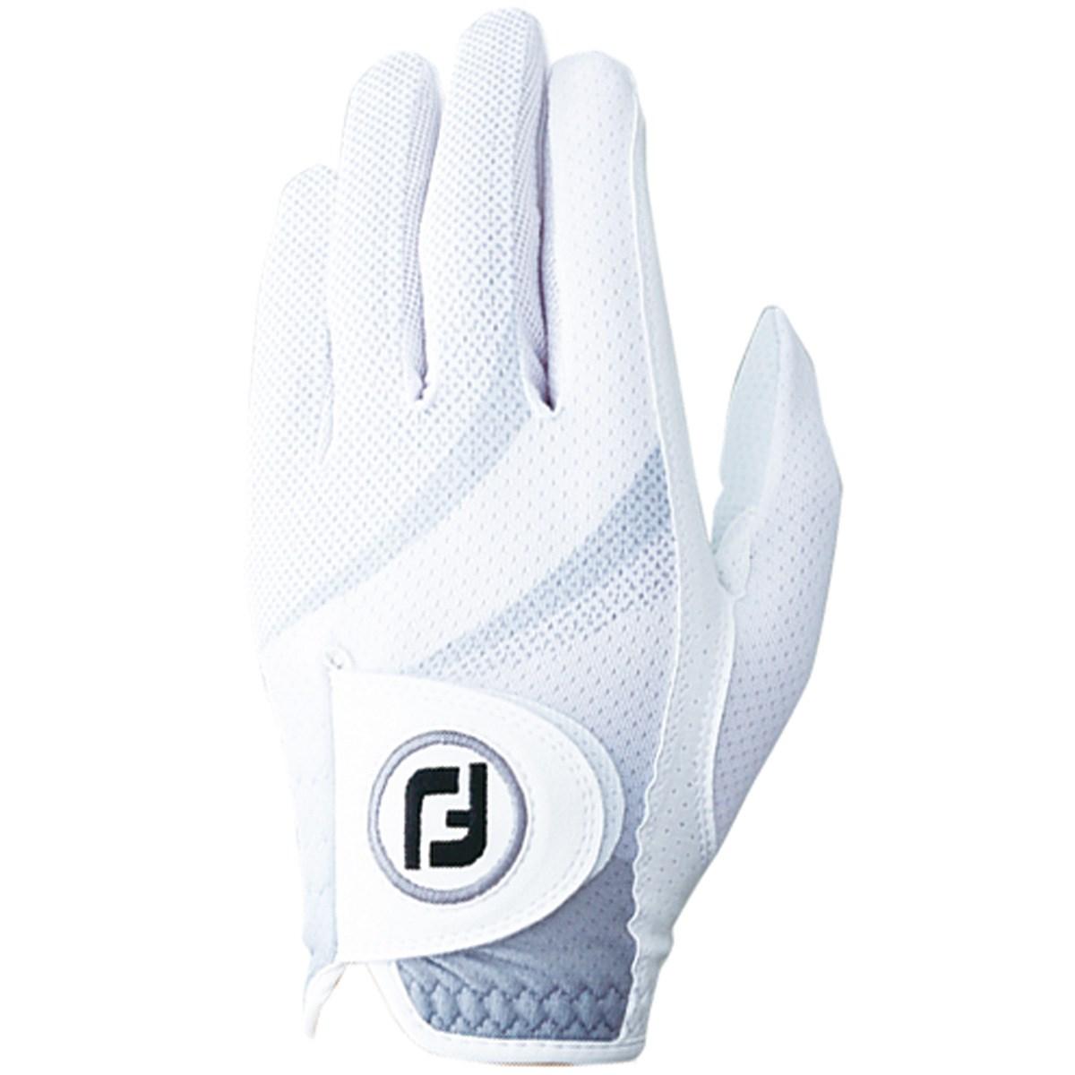 フットジョイ Foot Joy ステイクールEX グローブ 21cm 左手着用(右利き用) ホワイト/グレー
