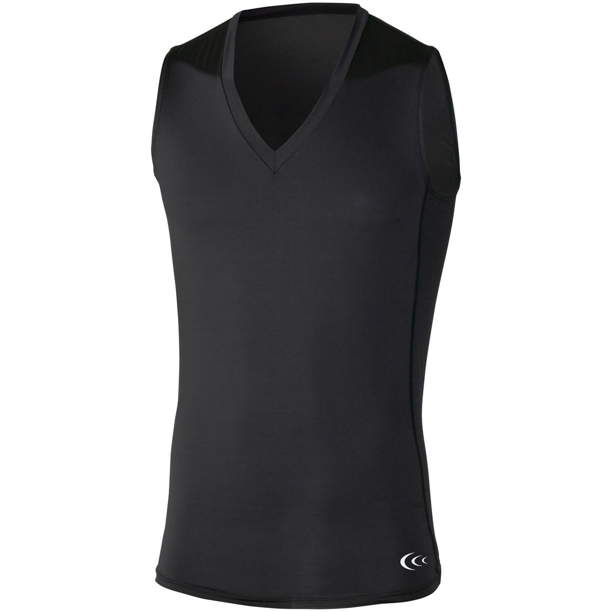 C3fit クーリングVネックスリーブレスアンダーシャツ
