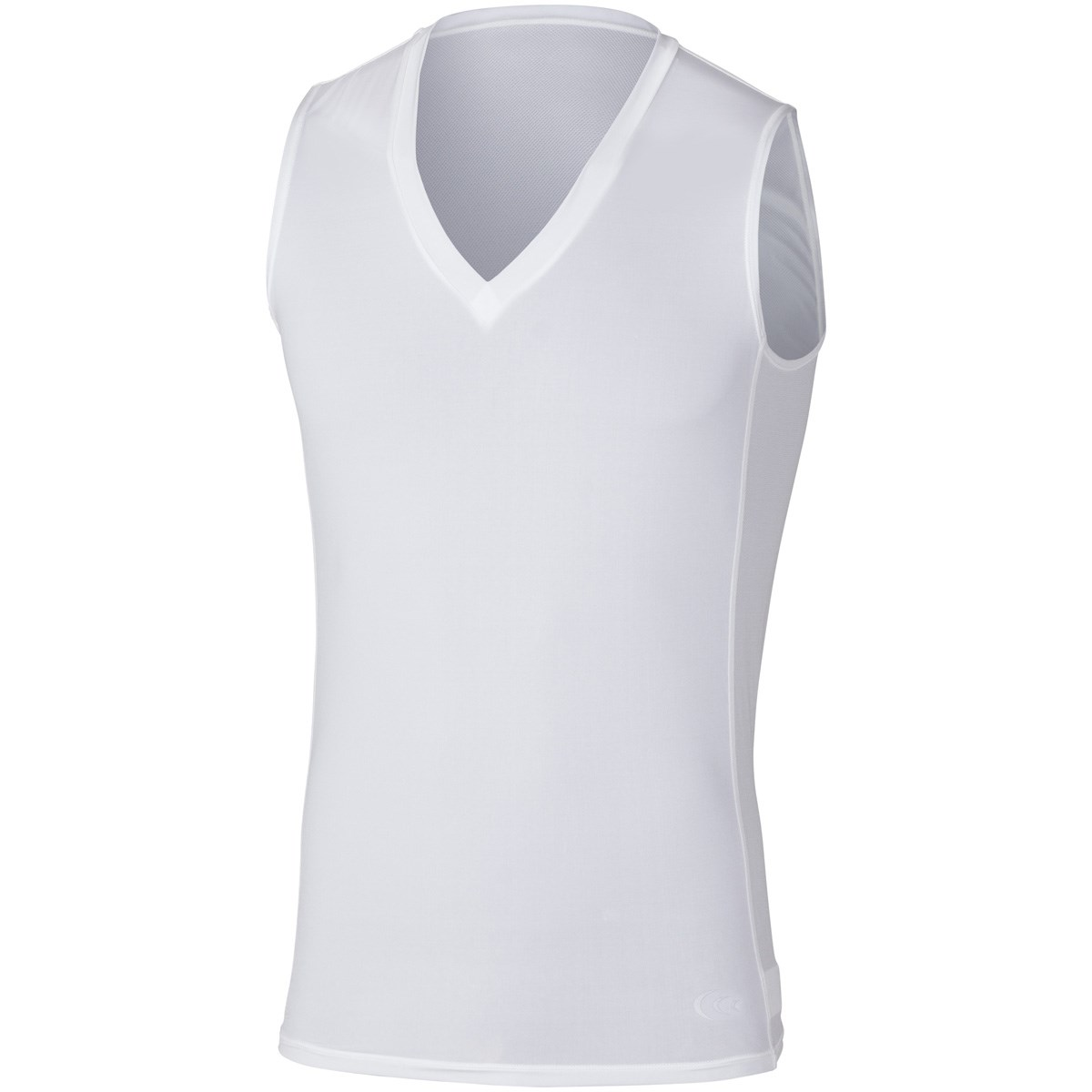 C3fit C3fit クーリングVネックスリーブレスアンダーシャツ M ホワイト