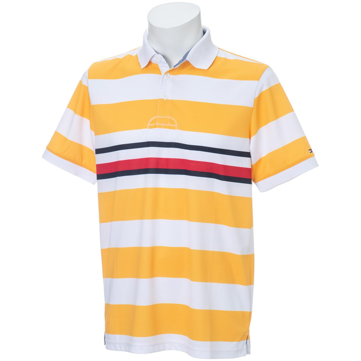 ボーダー 半袖ポロシャツ