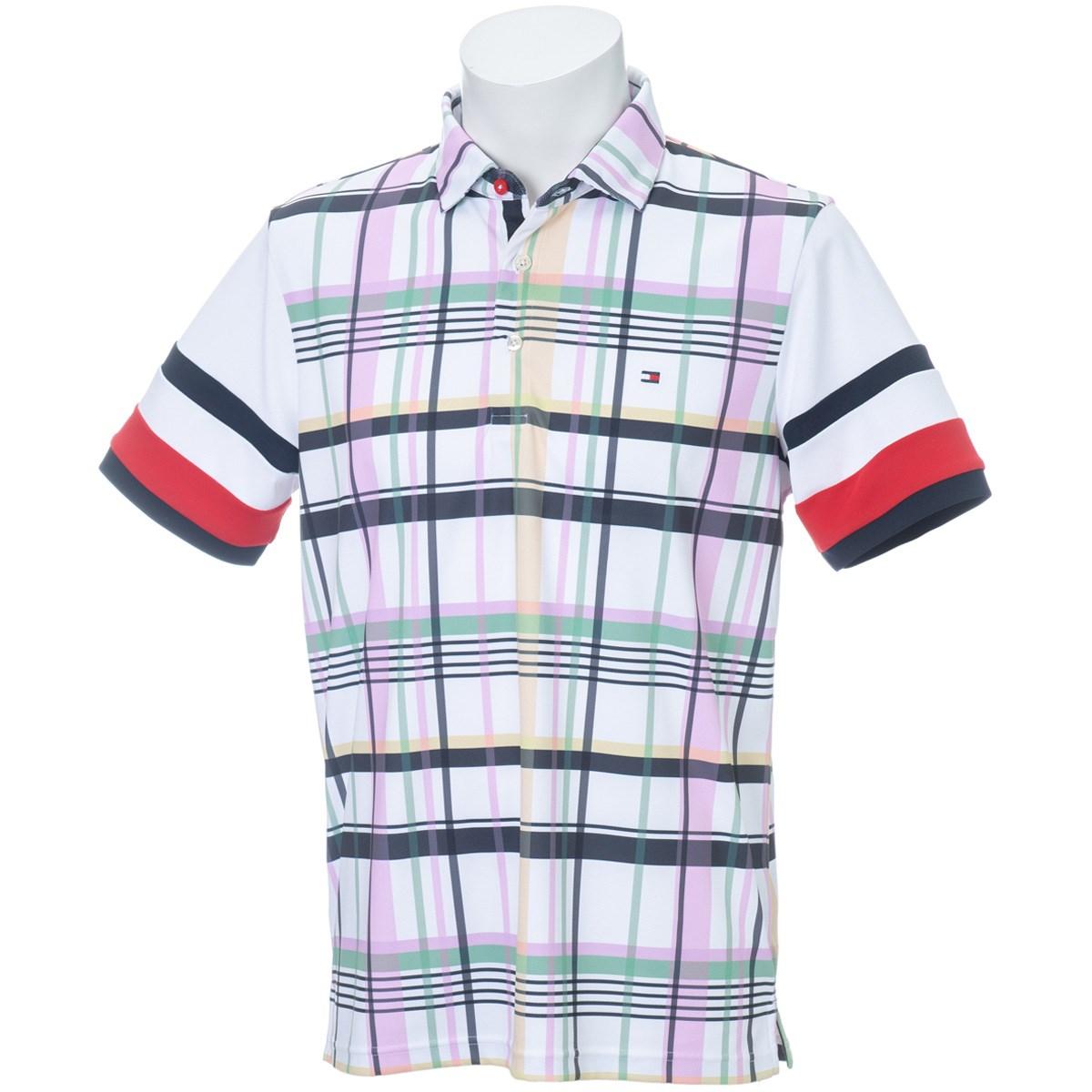 トミーヒルフィガー(Tommy Hilfiger) チェック 半袖ポロシャツ