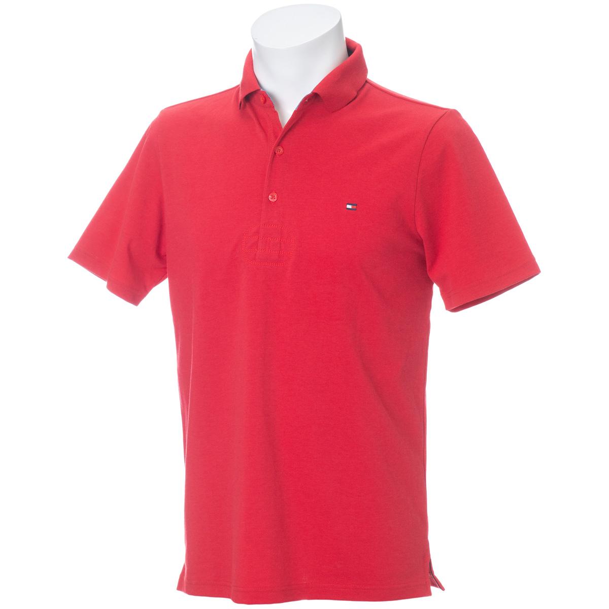 ベーシック フラッグ 半袖ポロシャツ