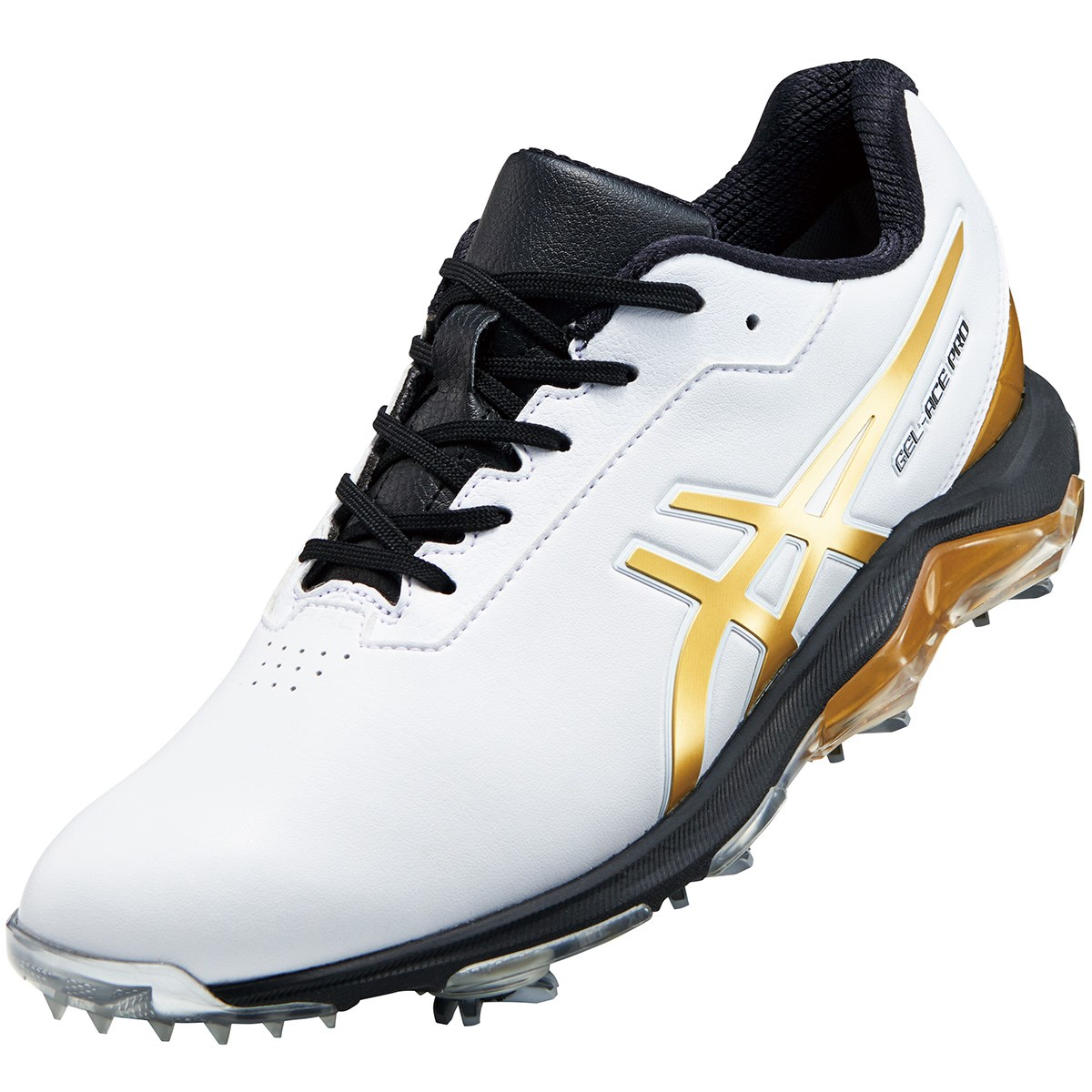 アシックス ASICS ゴルフシューズ 26.5cm ホワイト/リッチゴールド