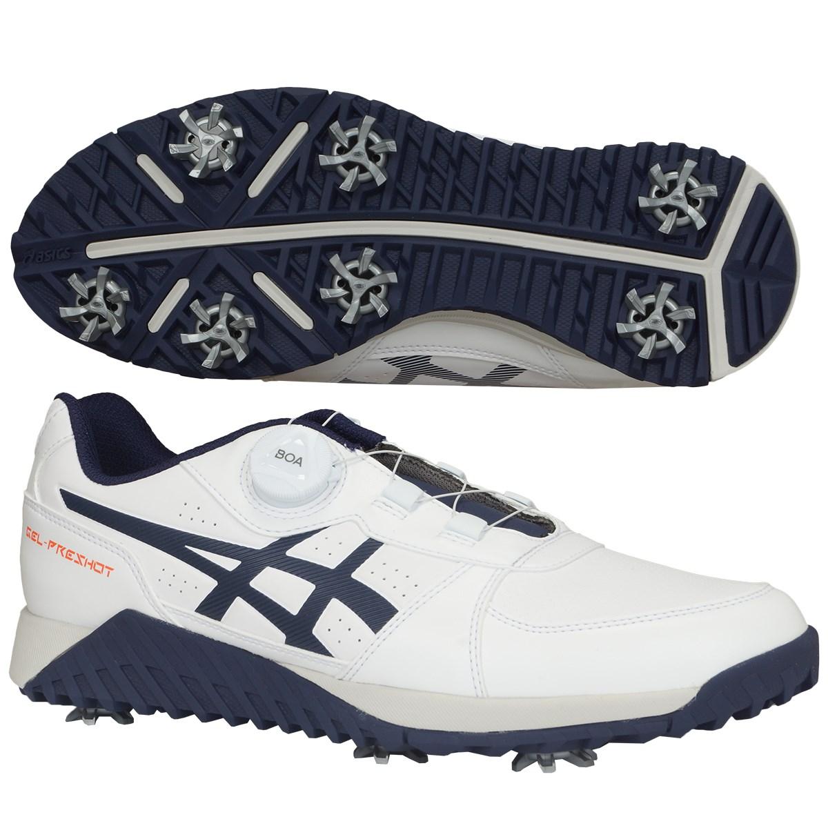 アシックス ASICS ゴルフシューズ 26cm ホワイト/ピーコート
