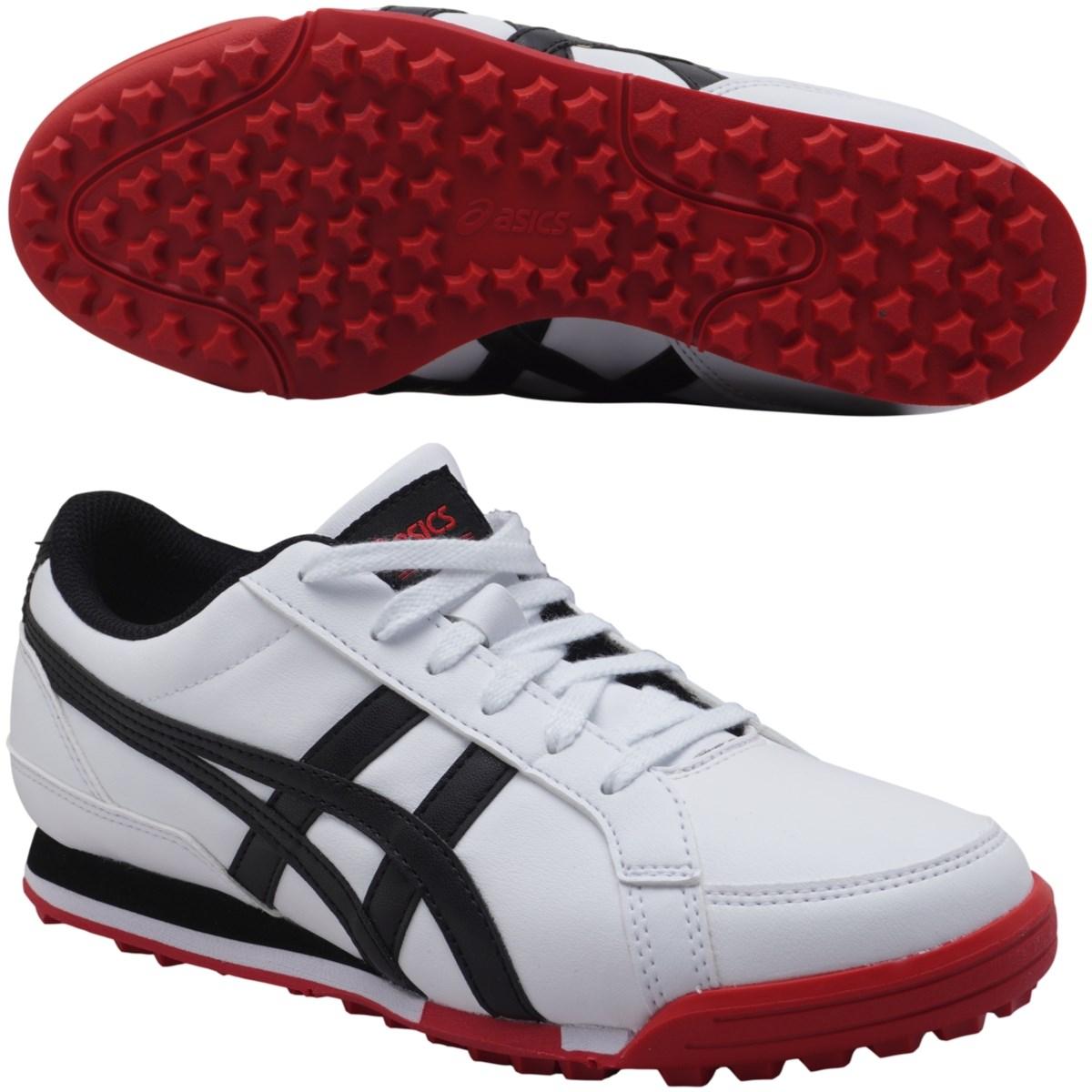 アシックス ASICS ゴルフシューズ 27cm ホワイト/ブラック