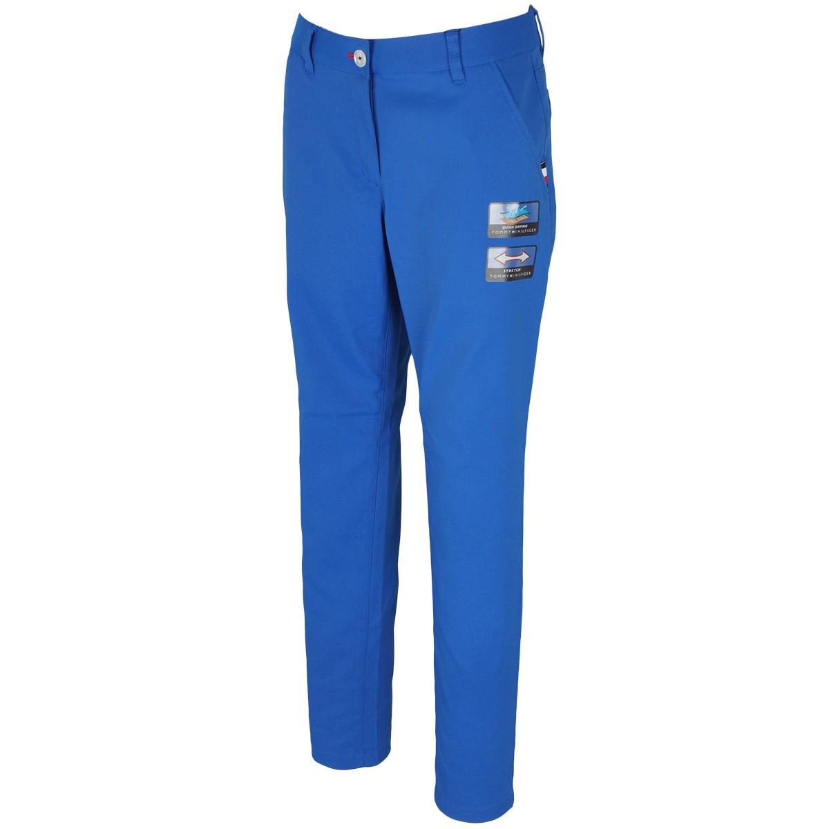 トミー ヒルフィガー ゴルフ TOMMY HILFIGER GOLF ストレッチ ストレートスタイル ロングパンツ M ブルー 34 レディス
