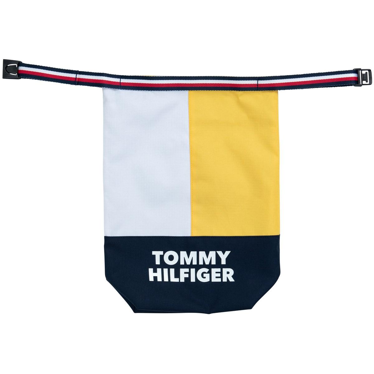 トミー ヒルフィガー ゴルフ TOMMY HILFIGER GOLF SPLIT シューズケース イエロー 70