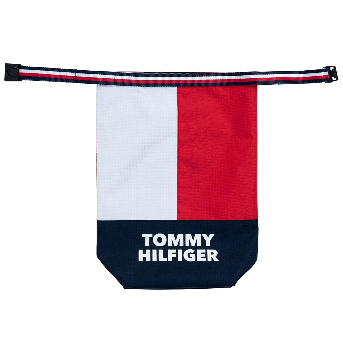 トミー ヒルフィガー ゴルフ TOMMY HILFIGER GOLF SPLIT シューズケース トリコロール 90