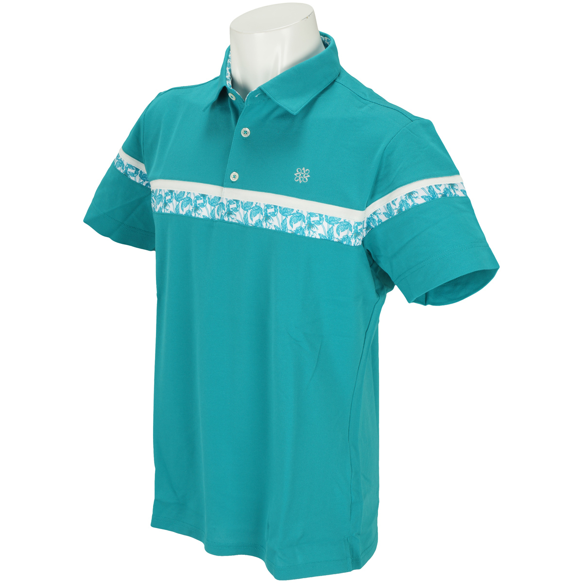 WhiteLabel COOLMAX鹿の子半袖ポロシャツ