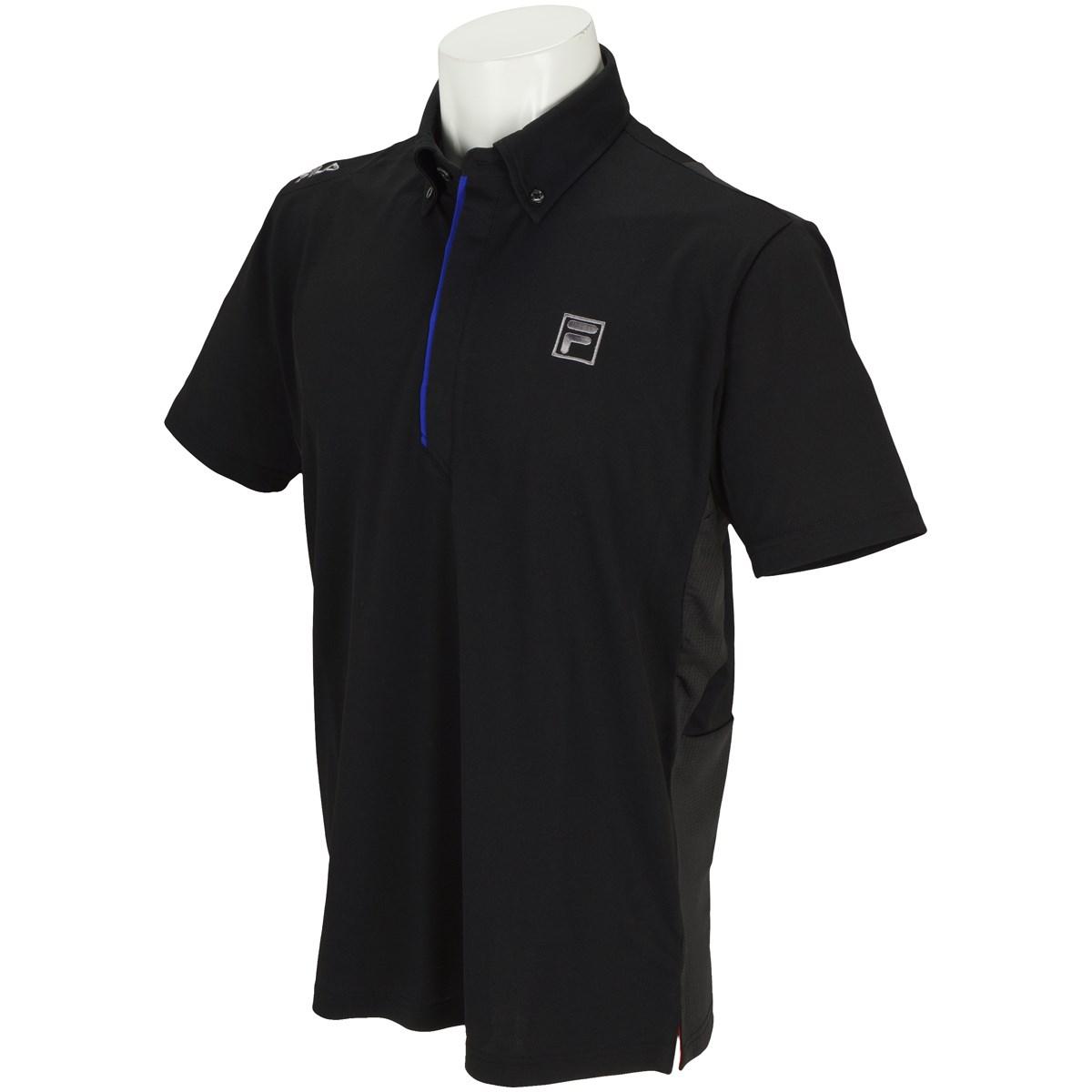 フィラ FILA 半袖ポロシャツ M ブラック