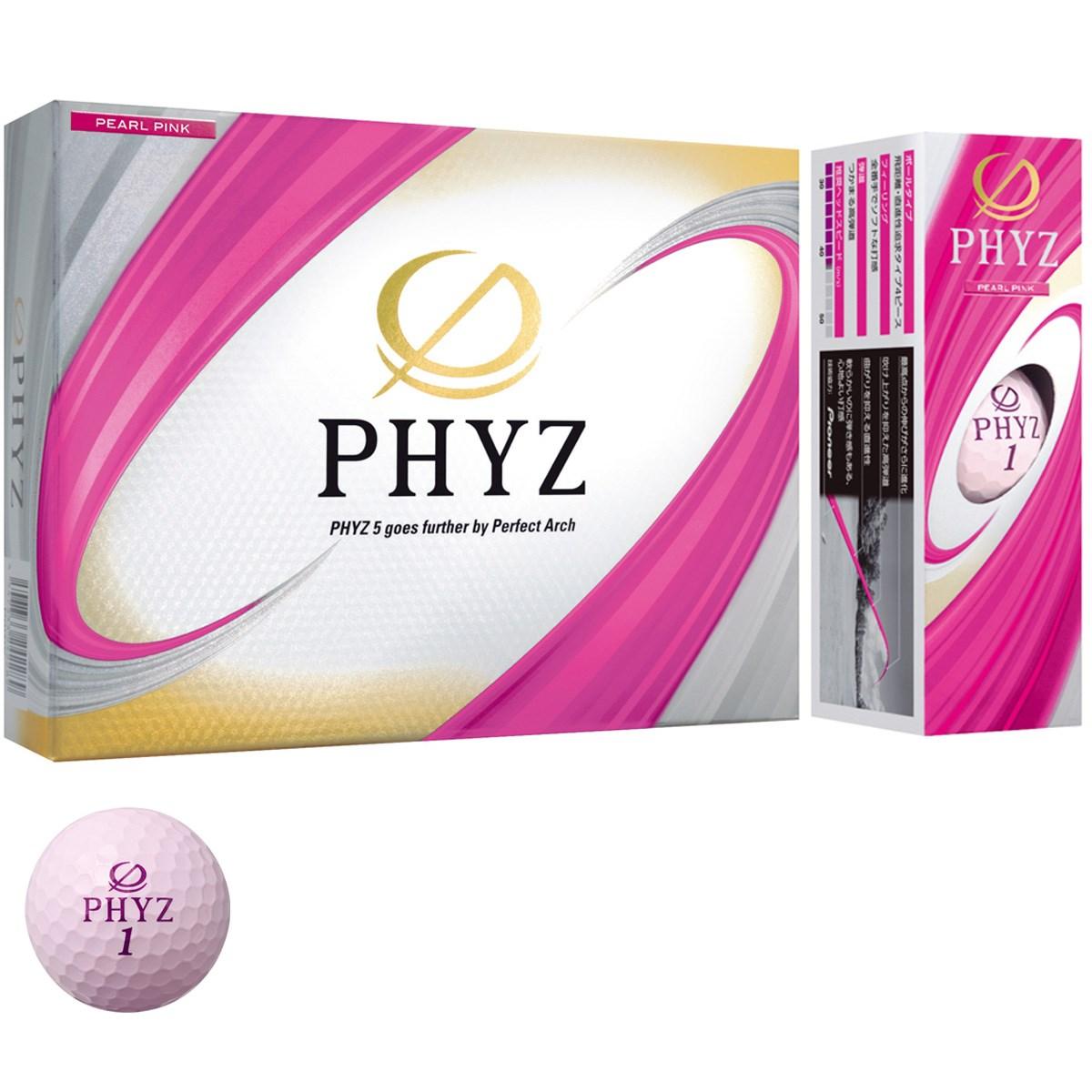 ブリヂストン PHYZ PHYZ ボール 1ダース(12個入り) パールピンク