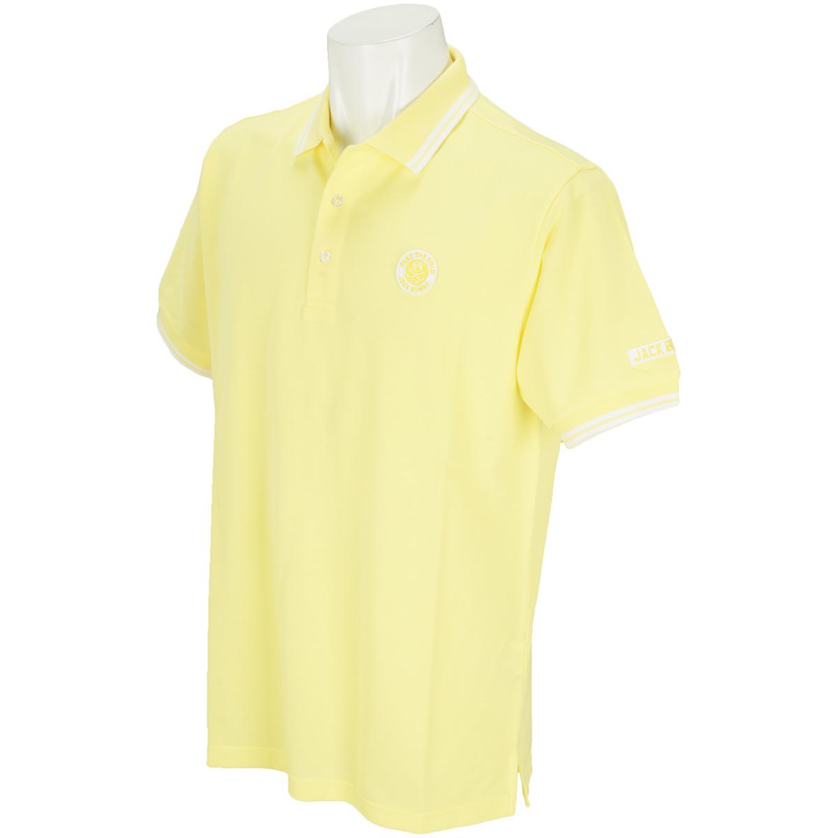 鹿の子シルケット 半袖ポロシャツ