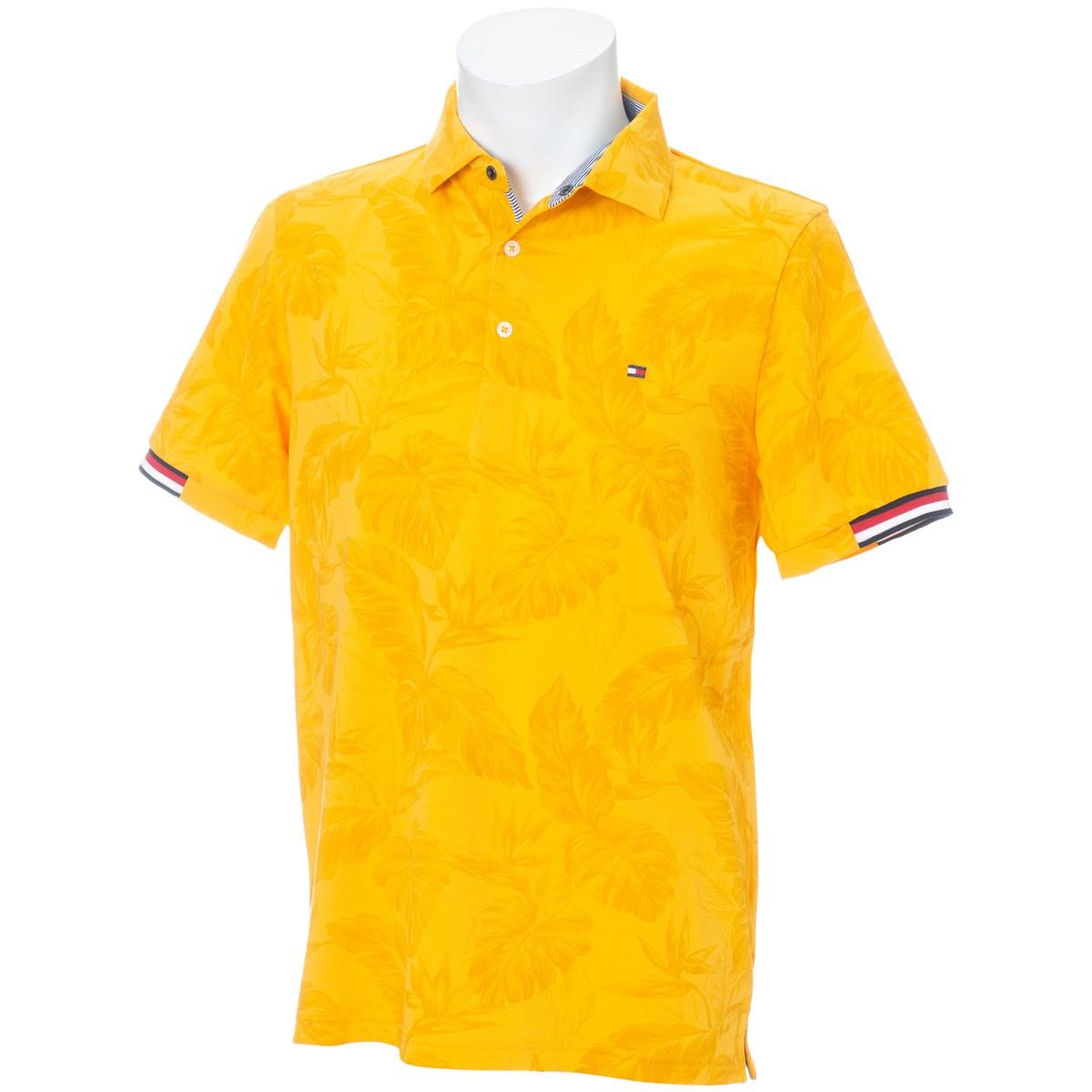 トミーヒルフィガー(Tommy Hilfiger) LEAF-PRINTED 半袖ポロシャツ