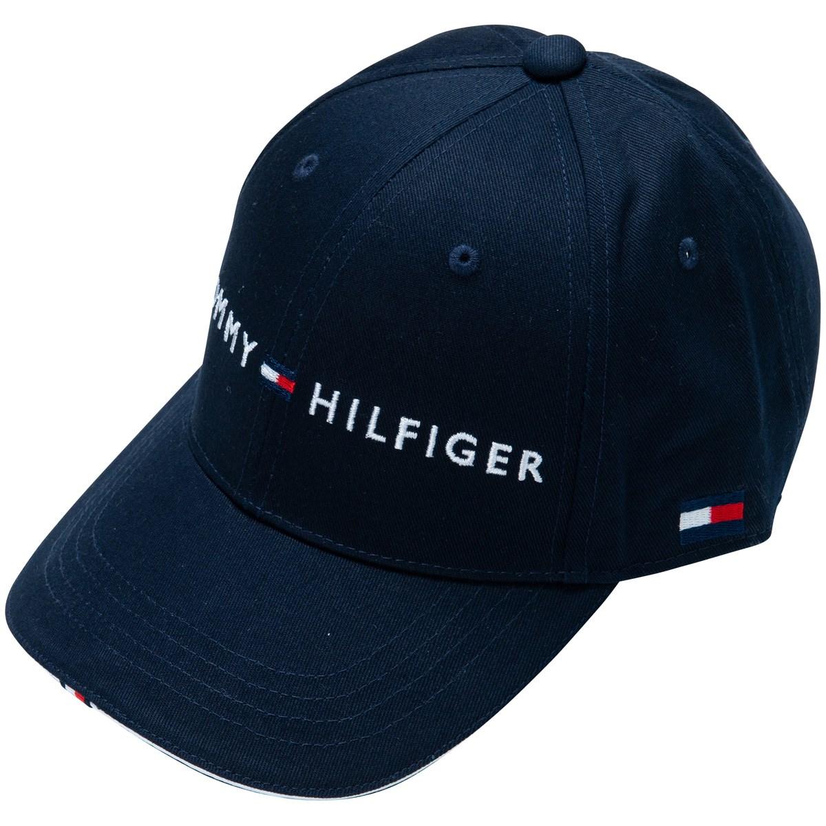 トミー ヒルフィガー ゴルフ TOMMY HILFIGER GOLF TH LOGO キャップ フリー ネイビー 30