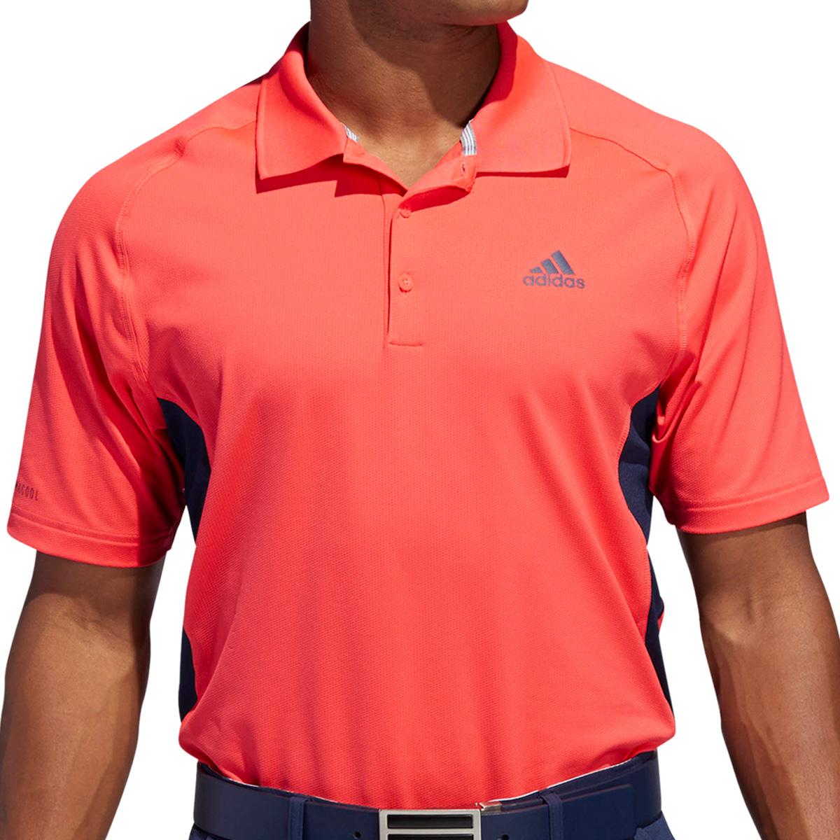 ストレッチ ULTIMATE365 climacool カラーブロック 半袖ポロシャツ