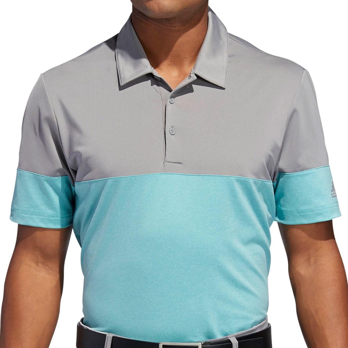 アディダス(adidas) ストレッチ ULTIMATE365 バイカラー 半袖ポロシャツ