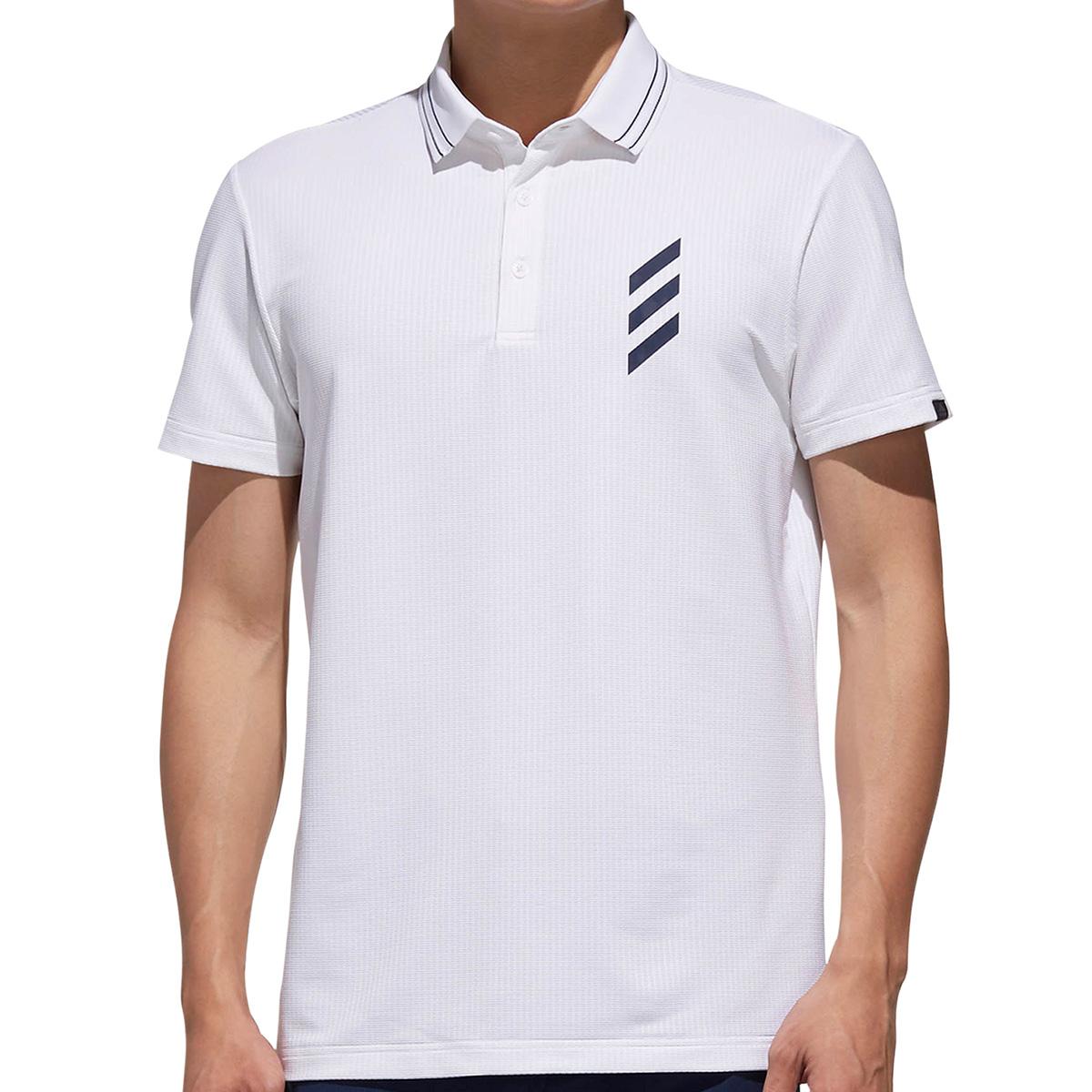 ADICROSS クロスデザイン 半袖ポロシャツ