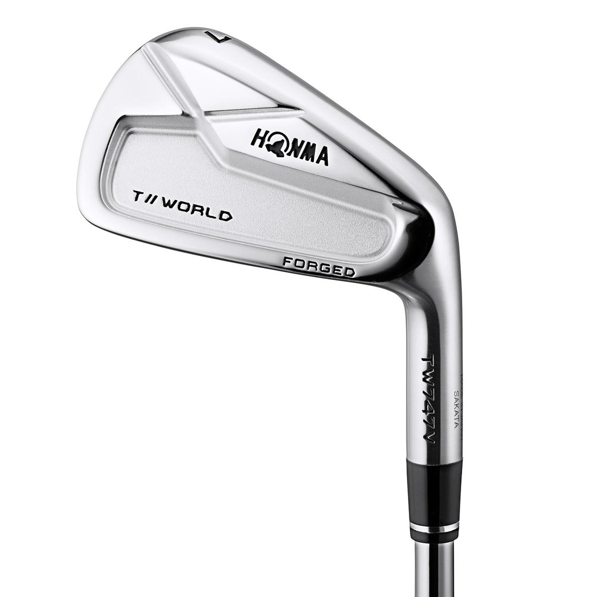 本間ゴルフ(HONMA GOLF) ツアーワールド TW747 V アイアン(6本セット) AMT TOUR WHITE