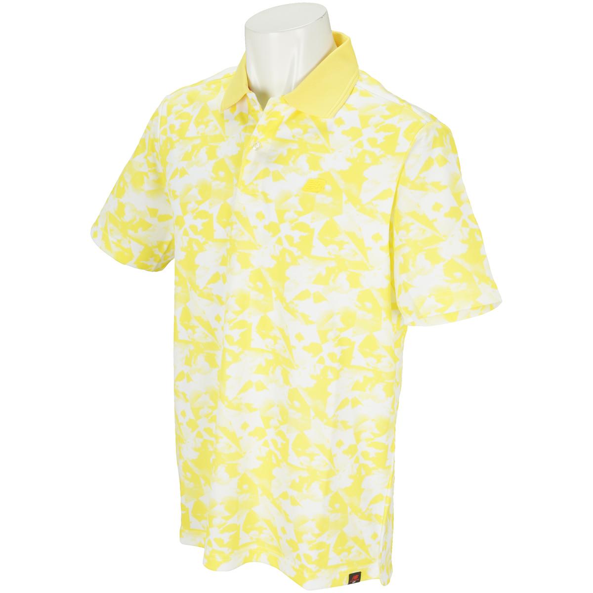 SPORT クラウドプリント 半袖ポロシャツ
