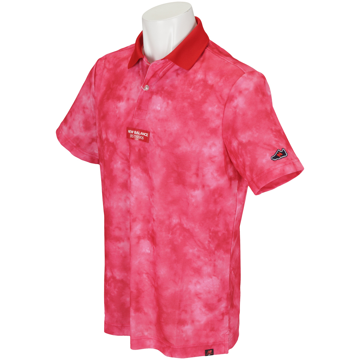 METRO 鹿の子 タイダイプリント半袖ポロシャツ