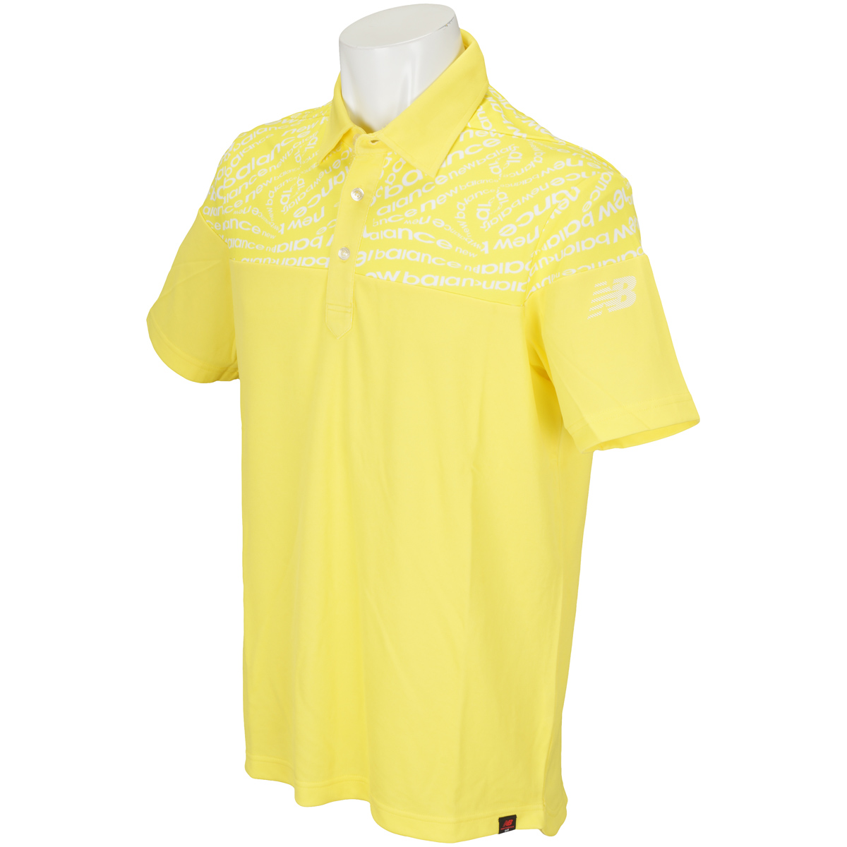 SPORT ソリッド×タイポゼブラプリント半袖ポロシャツ