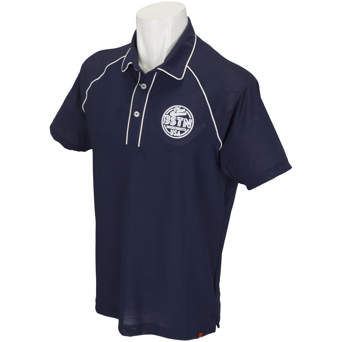 METRO ヘッドウェア半袖共衿ポロシャツ