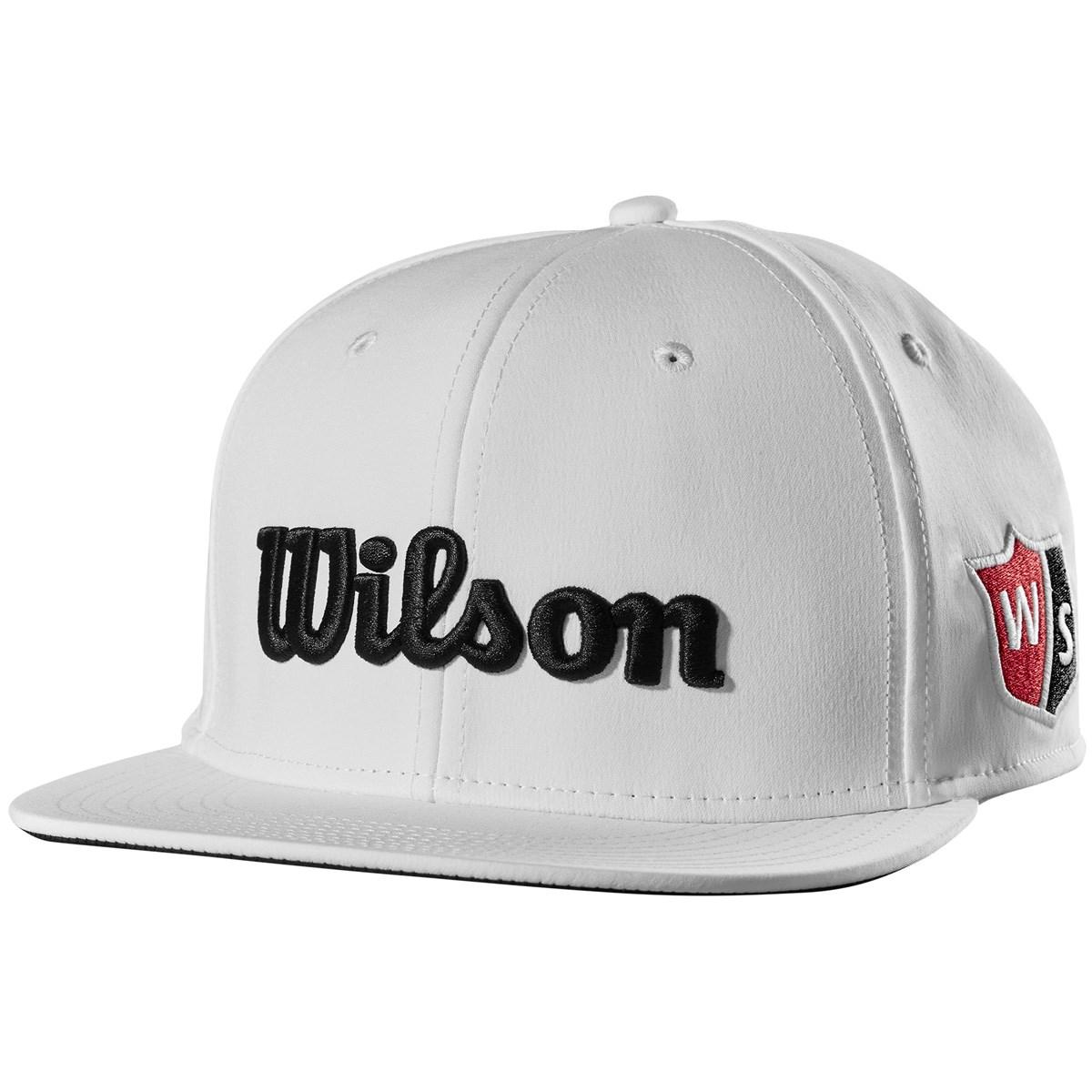 ウイルソン(wilson) フラットブリムキャップ