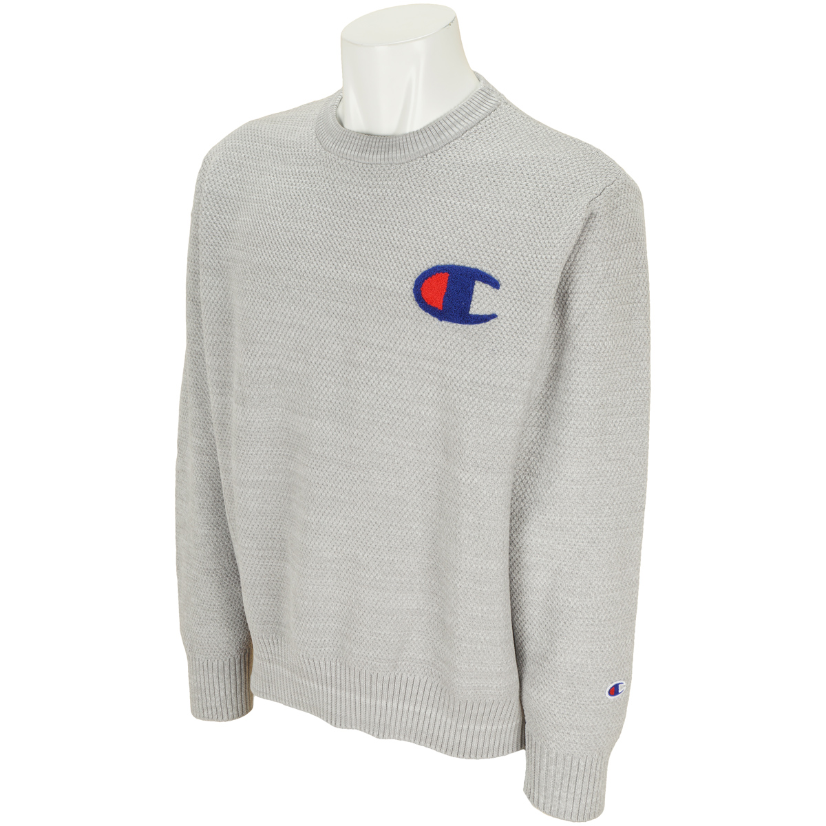 ストレッチ長袖セーター
