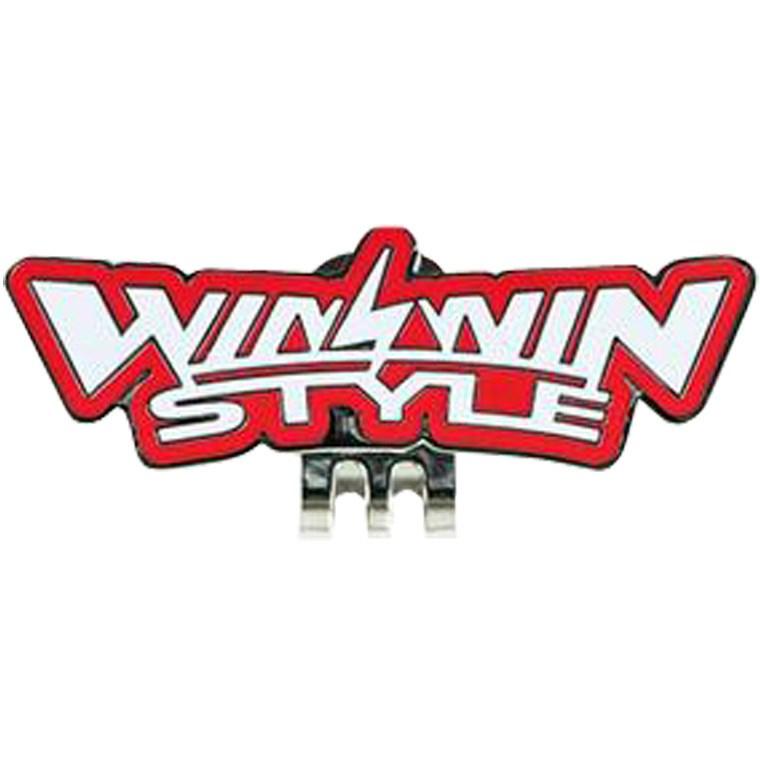WINWIN STYLE ウィンウィンスタイル WINWIN STYLE LOGO NEW クリップ レッド 032