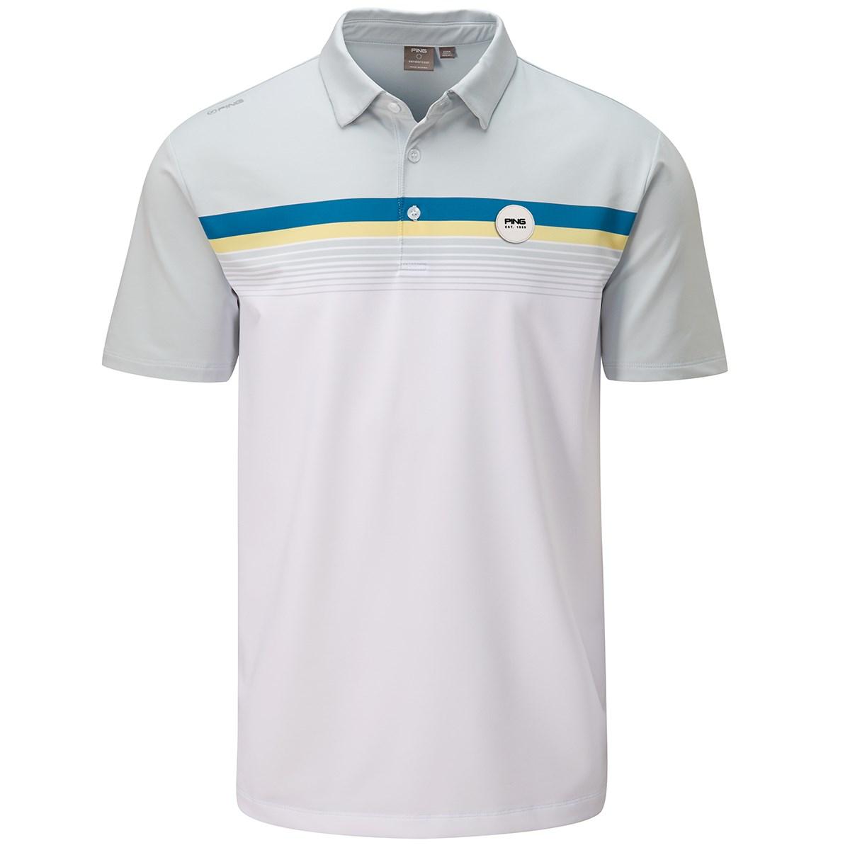 ピン(PING) リッジ-J ストレッチ半袖ポロシャツ