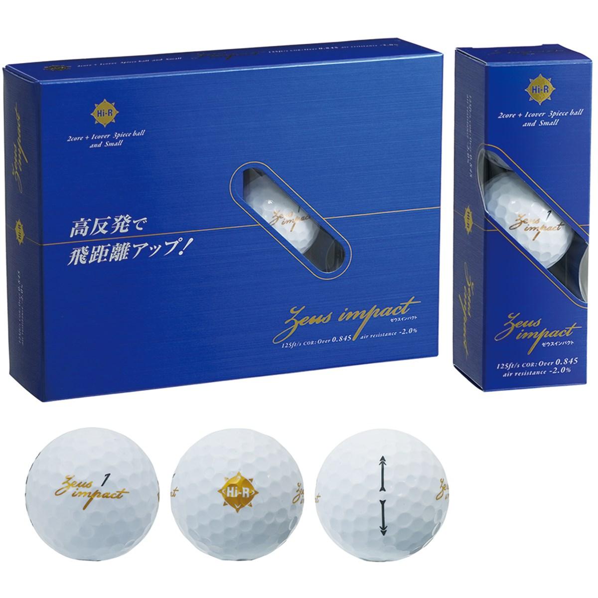キャスコ(KASCO) Zeusimpact2 ボール【非公認球】