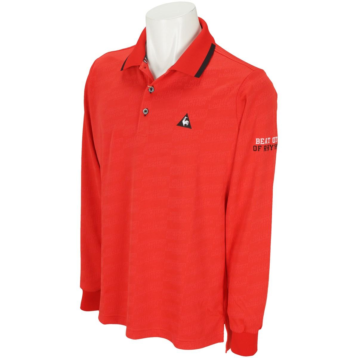 ルコックゴルフ 長袖ポロシャツ