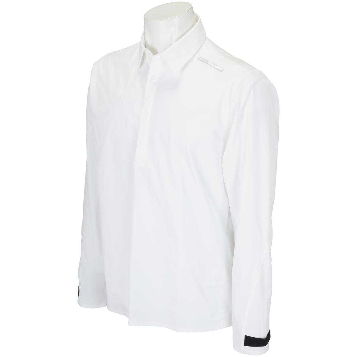 ストレッチ 長袖ポロシャツ