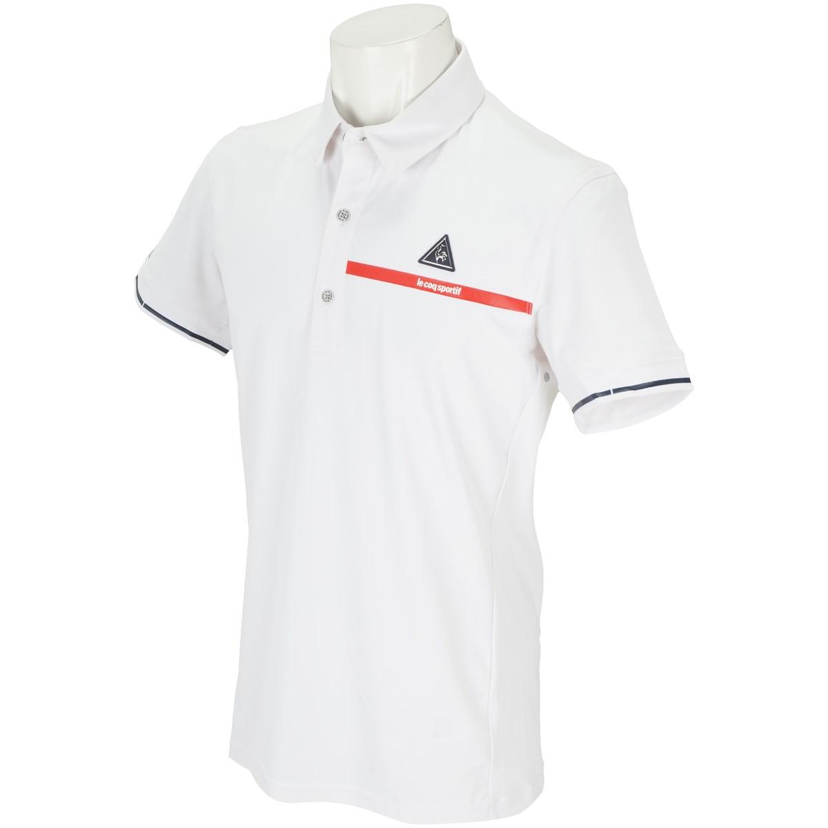 ルコックゴルフ ストレッチ 半袖ポロシャツ