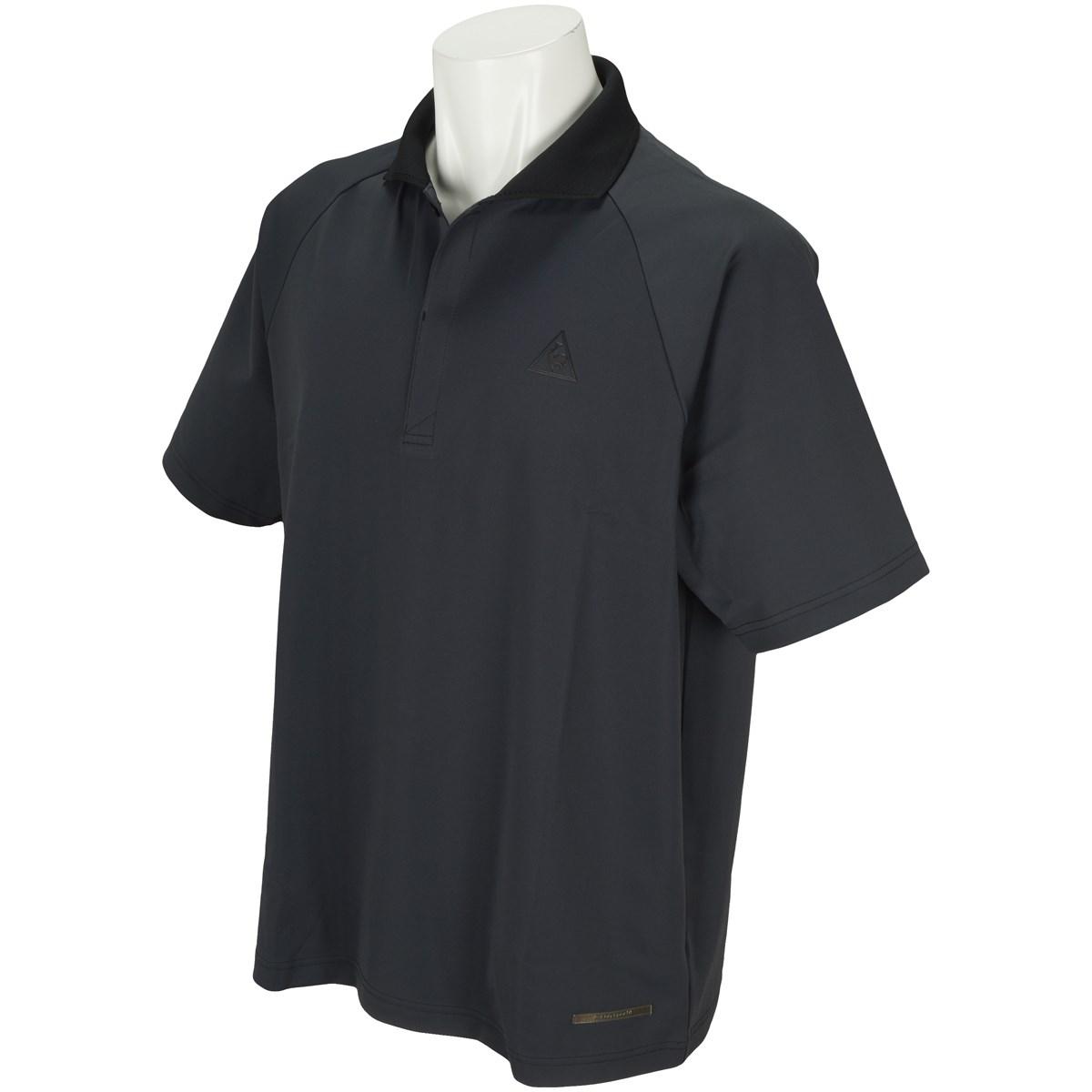ルコックゴルフ Le coq sportif GOLF ストレッチ 半袖ポロシャツ M ブラック 00