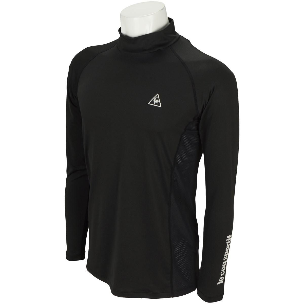 ルコックゴルフ Le coq sportif GOLF 長袖ハイネックインナーシャツ M ブラック 00