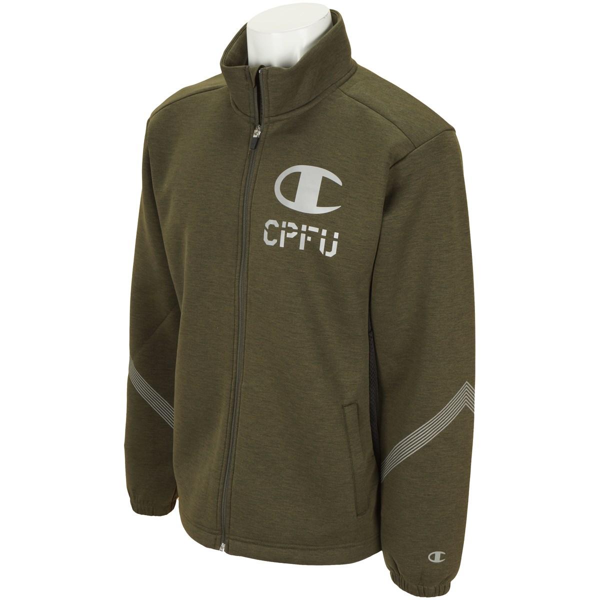 チャンピオン CPFU ストレッチ 通気性機能 ラップエア ジャケット