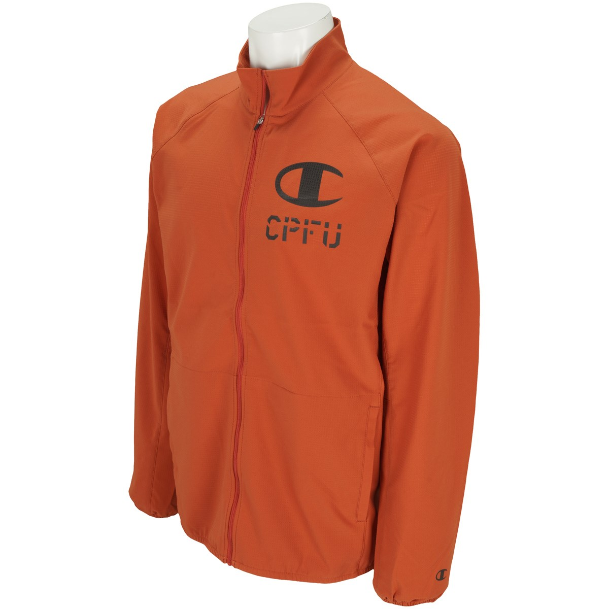 チャンピオン CPFU ストレッチ 軽量 高通気 スタンドカラージャケット