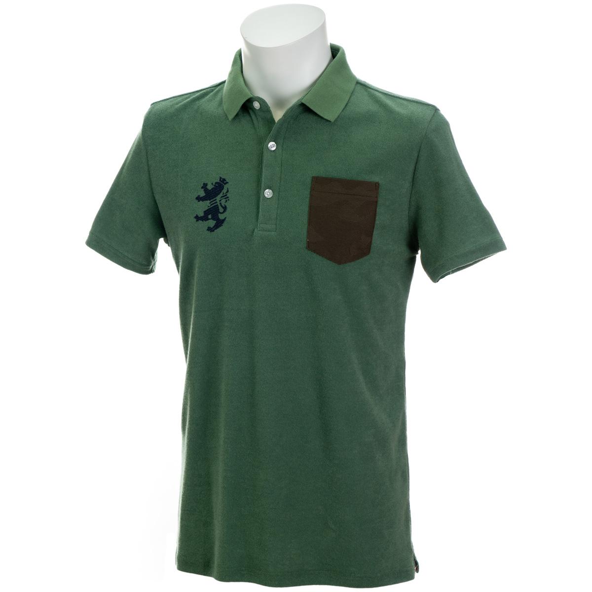 パイル 半袖ポロシャツ